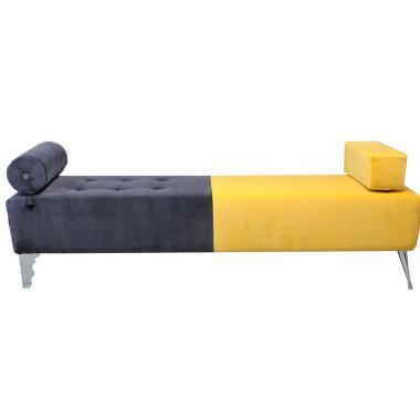 Designerska Ławka Evolution - miękka tapicerowana ławka do przedpokoju, sypialni, poczekalni, salonu.