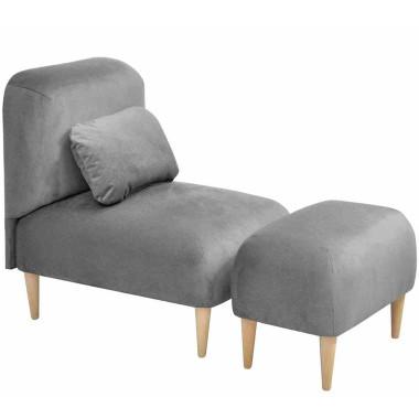 Oryginalny fotel z tkaniny MILO ( odpornej na zabrudzenia). Idealny do aranżacji w stylu LOFT oraz skandynawskim.