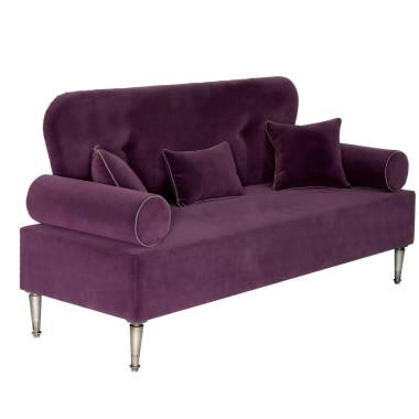 Elegancka sofa z veluru nowej generacji - odpornego na zabrudzenia