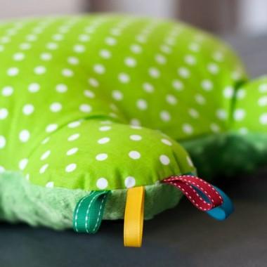 Kolorowe hipoalergiczne miękkie poduszeczki dla dzieci z miki