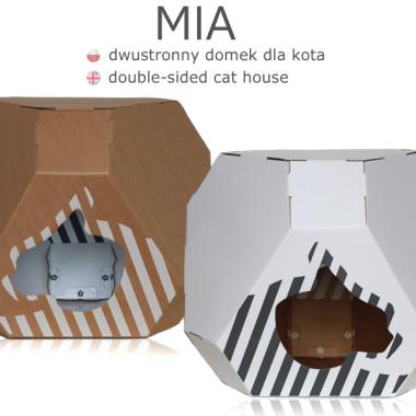 Wielofunkcyjny nowoczesny mebel dla kota. Kryjówka, leżanka, zabawka...