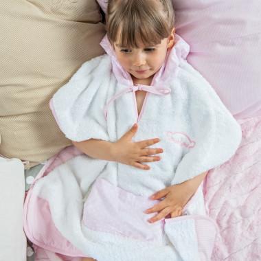 poncho dla dzieci Baśniowe Lilie 1