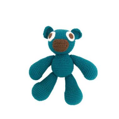 Pan Misiol - cudna zabawka szydełkowa w oryginalnych kolorach.