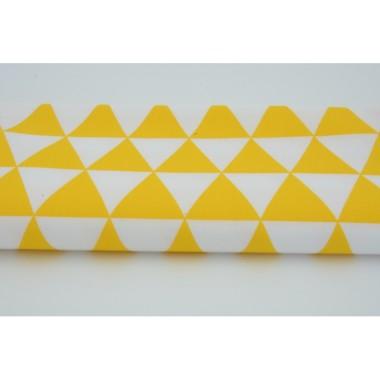 Zasłona Trójkąty żółte