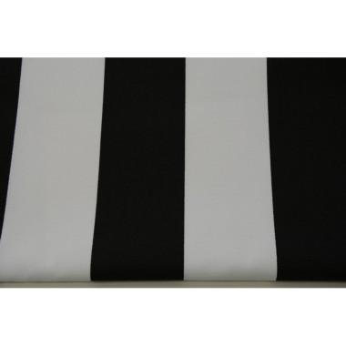 Zasłona Czarne pasy 8 cm