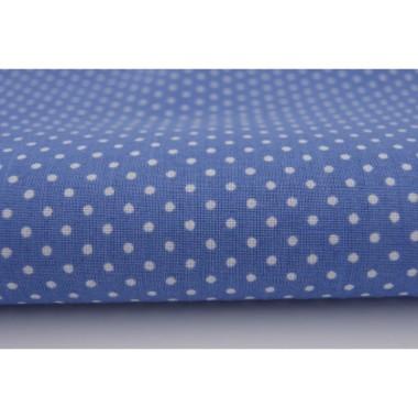 Zasłona Kropki na ciemnym niebieskim 2 mm