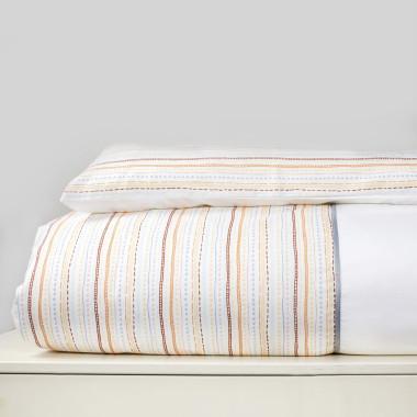 Paski - 2 el. pościel do łóżeczka