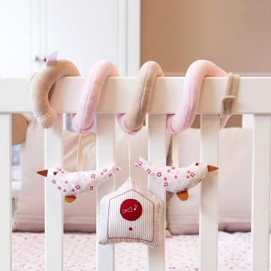 Ptaszki - spirala aktywna dla niemowląt