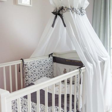 Wesoła Kompania - baldachim do łóżeczka niemowlęcego