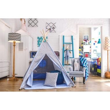 Namiot tipi do pokoju dziecka.