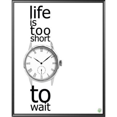 Czas - inspirujący plakat