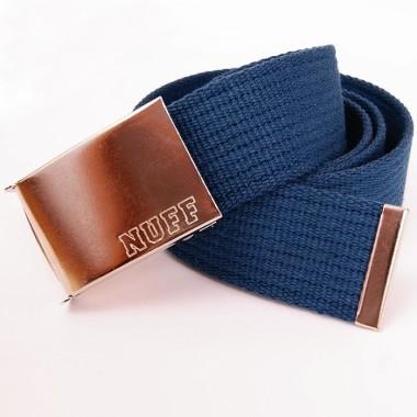 Pasek Nuff Wear - P0313 - niebieski morski