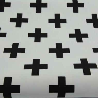 Zasłona Krzyżyki czarne