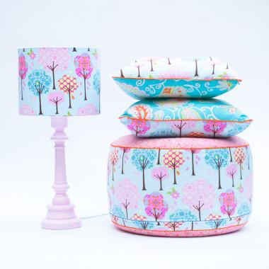Kolekcja Bajkowy Las Niebieskie Tło Lamps&Co (2)
