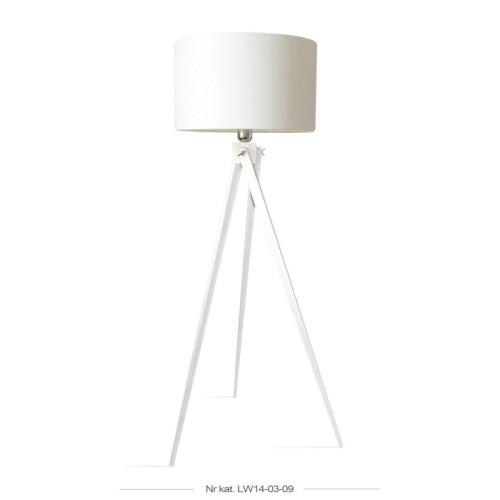 Lampa podłogowa, sztalugowa, trójnóg.