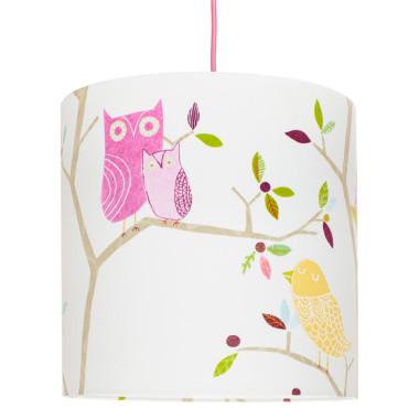 Lampa sufitowa ptaszki