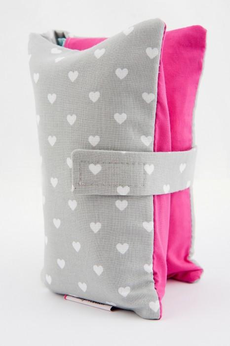 Etui na pieluchy, chusteczki i krem- akcesoria dla niemowląt