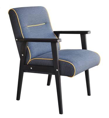Oryginalny fotel inspirowany wzornictwem lat 70-tych