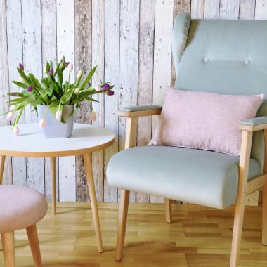 Oryginalny fotel klubowy inspirowany wzornictwem lat 60-tych z nowej kolekcji. Happy Barok.