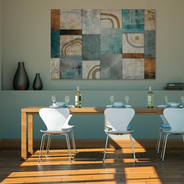 Mozaika myśli- obraz na ścianę do salonu, sypialni, gabinetu lub kuchni. Vaku Dsgn.