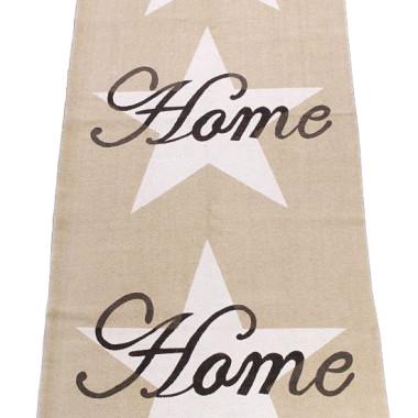 Dywan z motywem gwiazd i napisami Home.