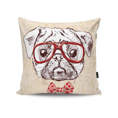 Poduszka dekoracyjna/ jasiek z psem.