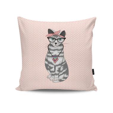 Poduszka - Hipster Cat