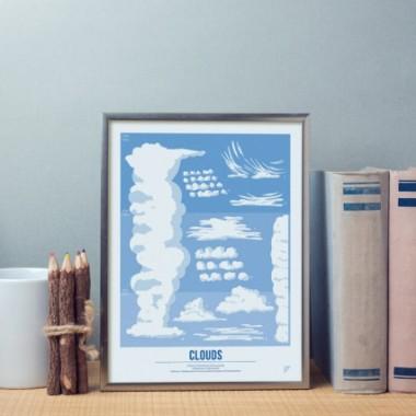 Plakat 30x40 - Chmury