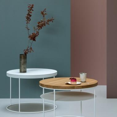 Okrągły stolik kawowy AMSTERDAM