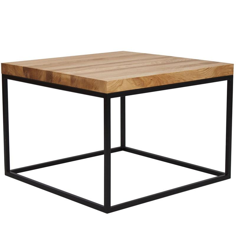 Stolik kawowy qubik to uniwersalny stolik z blatem z forniru orzecha ameryka skiego kt ry - Couchtisch skandinavisch ...
