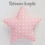 Śliczne zawieszki w kształcie gwiazdek o wielkości 15cm do pokoju dziecka