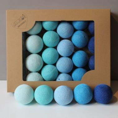 Cotton Balls. Kulki niebieskie.