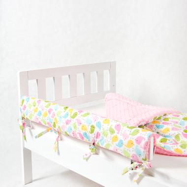 Ochraniacz do łóżeczka/łóżka IKEA - ptaszki
