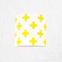 youngDECO kinkiet krzyżyki żółte 2