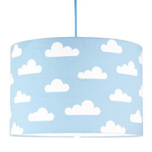Abażur/ lampa do pokoju dziecka w chmurki-błekitny.