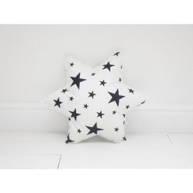 Poduszka w kształcie gwiazdki.