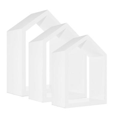 Półki domki biał edo pokoju dziecka-youngdeco