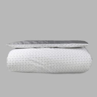 Milky Grey - poszewka na kołdrę i poduszkę