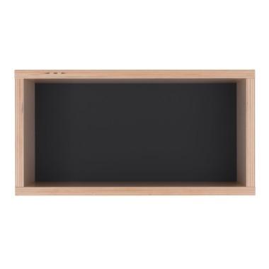 Półka obrazek z czarnym tłem