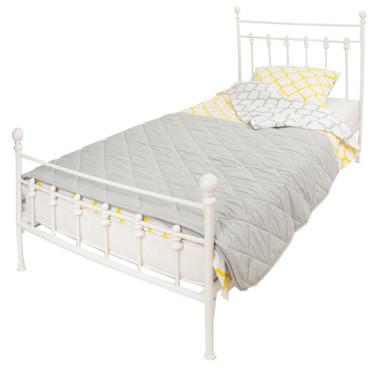 youngDECO łóżko metalowe CLASSIC białe