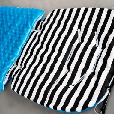Wkładka do wózka/letni śpiworek w paski