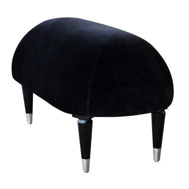 Zabawna ławka z metalowymi skarpetkami. Wygodna i miękka , idealna do salonu lub sypialni.