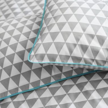 Pościel szary trójkąt/ Leotti for Parents - Leotti