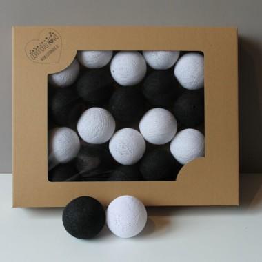 Cotton Balls kolorowe świecące kulki 10szt lub 20szt