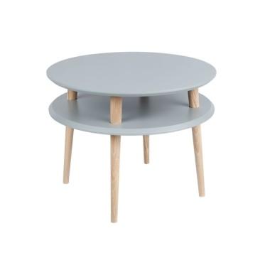 ciemnoszary okrągły stolik kawowy ragaba wysokość 45cm, średnica 57cm (2)
