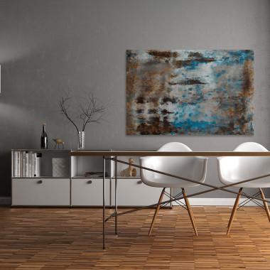 Rozdroża niepewności - nowoczesny obraz na płótnie do salonu, jadalni, sypialni lub przedpokoju. Loft, scandi.
