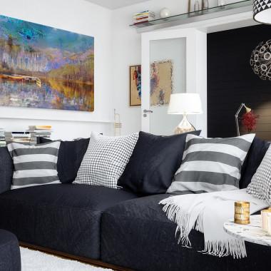 Tchnienie wolności - nowoczesny obraz na płótnie do salonu, jadalni, sypialni lub przedpokoju. Loft, scandi.Vaku.