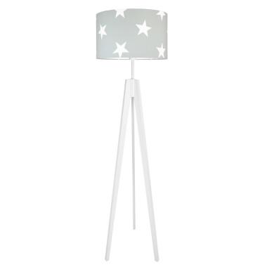 youngDECO lampa podłogowa trójnóg gwiazdy na szarym