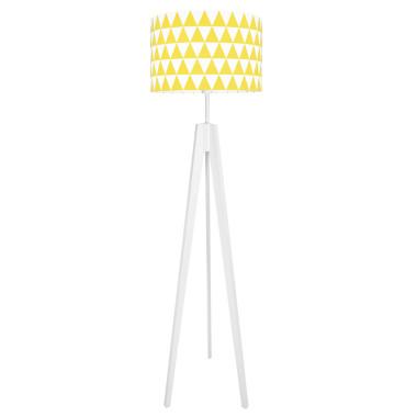youngDECO lampa podłogowa trójnóg trójkaty żółte