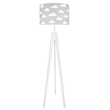 youngDECO lampa podłogowa trójnóg chmurki na szarym